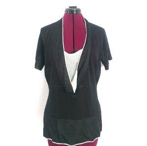 Isabelle Marant knit short sleeve top